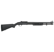 "Mossberg 590 Shotgun - MOSSBERG 590A1 XS SECURITY 12GA 20"" BARREL 3"" BLK PARKERIZED 