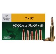 Sellier & Bellot 7x57 140gr SP - 20rd Box