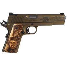 "Auto Ordnance 1911 A1 45th President ""Trump"" Handgun .45 ACP 5"" Barrel 7rd Magazine Bronze/Copper"