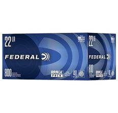 Federal Ammunition .22LR 40gr LRN 1200ft/s - 800rd Box