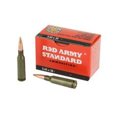 Red Army 5.45x39 Steel Case 69gr FMJ 1080rd Case