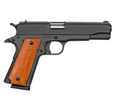 "Rock Island GI Standard 1911 .45ACP 5"" 8rd - Parkerized / Wood Grip"