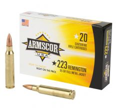 Armscor 223 Remington 55gr FMJ 20rd Box
