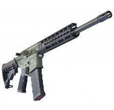 ATI Omni Hybrid AR Rifle Maxx 300 Blackout Limited Black Keymod Rail 16'' barrel (1) 30rd mag Battlefield Green
