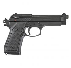 "Beretta M9 Pistol 9mm 4.9"" (2) 10rd  California Compliant- Black"