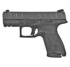 "Beretta APX Centurion Semi-auto Striker Fired 9MM Pistol w/ 3.7"" Barrel, Polymer Frame, Black Finish, (2)15Rd Mags, Picatinny Rail, 3 Dot Sights"