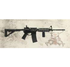 "Bushmaster MOE M4 AR15 Rifle 5.56NATO 16"" Black (1) 30rd mag 90291"