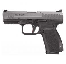 Canik TP9SF Elite Pistol 9mm (2) 10rd Warren Sights - Tungsten / black