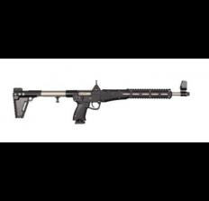 KEL-TEC SUB2000  - Kel-Tec Sub-2000 9mm Nickle Boron/BLK Glock 19 Mag 15rd