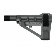 SB Tactical SBA4 Pistol 5-Position Adjustable Stabilizing Brace Black