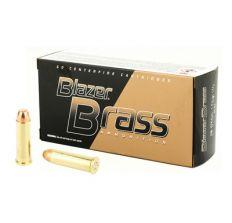 CCI 38 Special 125gr FMJ Flat Nose Blazer Brass 50rd Box