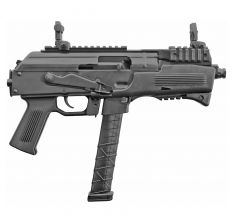 "Charles Daly PAK-9 Pistol 9mm 6.3"" 33rd W/ Magazine Adapters - Black"