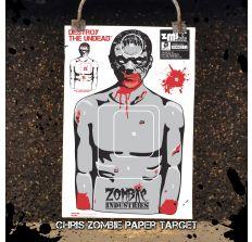 """Chris Zombie 18x24"""" Indoor Paper Target"""