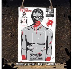 Chris Zombie - Colossal 24x36'' Paper Target