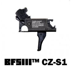 Franklin Armory BFSIII CZ-S1 Scorpion Binary Firing System III Trigger - Straight Trigger