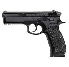 CZ USA CZ 75 SP-01 9mm Black 10rd Rail Night Sights CA Compliant