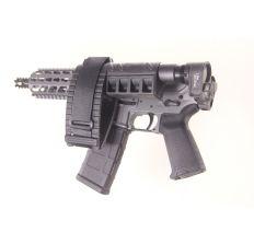 "Diamondback DB15 AR15 Pistol 5.56NATO 7.5"" Tactical Gray w/ installed Gen 3-M LAW folding adapter & Sig SBX-K brace (1) 30rd mag DB15PTG7"