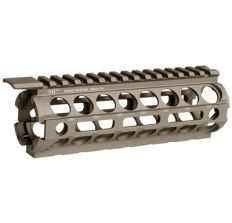 Midwest Industries AR Handguard - Midwest Industries Carbine Length M-Lok Handguard - Flat Dark Earth OPEN BOX