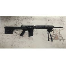 "DPMS RFLR-REPR 60564 .308win 20"" barrel HBAR Melonite Treated w/ Harris bipod S Series (1) 20rd mag"