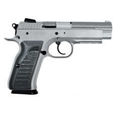 "Tanfoglio Witness Full Size 9mm 4.5"" 17rd Manual Safety - Wonder Finish"