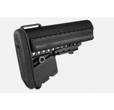 Vltor EMOD Mil-Spec Basic Stock Collapsible AR-15, LR-308 Carbine Synthetic adjustable stock w/ battery storage - Black AEB-MB