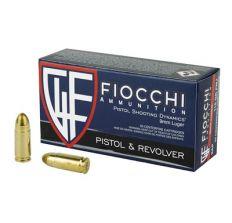 Fiocchi Ammunition 9mm Luger 115gr FMJ 1000 round case