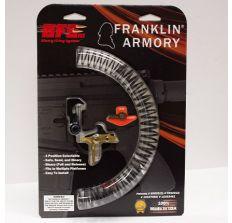 Franklin Armory BFSIII AR-S1 Binary Trigger System for AR Platforms - Straight Titanium Nitride Coated