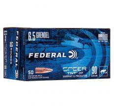Federal American Eagle Ammo 6.5 Grendel 90gr Varmint & Predator - 50rd Box