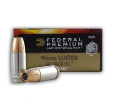 Federal Premium HST LE 9mm Luger JHP Ammo 147 Grain Jacketed Hollow Point 50rd box