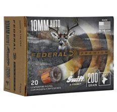Federal Premium Swift A-Frame Ammunition 10mm 200gr JHP - 20rd Box