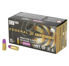 Federal Practice & Defend Combo 9mm 147gr - 50rds JHP & 50rds STM