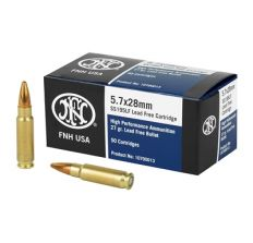 FN Herstal FNH SS195 5.7x28 Lead Free 27grain 500rd (10-50rd boxes)