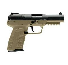 FN Herstal FNH FIVE-SEVEN 5.7X28MM FDE (3) 10rd mags Adjustable Sights 3868929352 CA Compliant