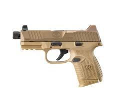 "FN 509C Tactical 9mm 4.32"" Threaded Barrel Night Sights - FDE"