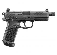 FN FNX TACTICAL 66966 Black 45ACP 15rd w/ Night Sights Threaded Barrel Soft case