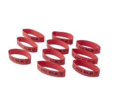 Faxon Firearms Magazine Marker Bands For 300 BLK Red - 10 pack