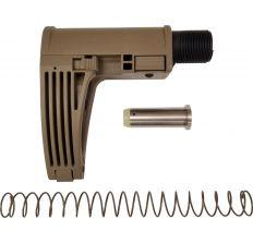 Gear Head Works Tailhook MOD 2C Compact Pistol Brace - FDE For AR-15