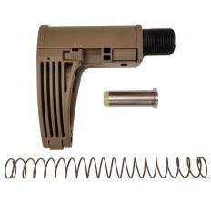 Gear Head Works Tailhook MOD 2C Pistol Brace FDE For 9mm AR-15