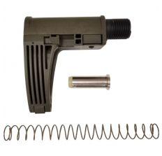 Gear Head Works Tailhook MOD 2C Compact Pistol Brace - OD Green For AR-15