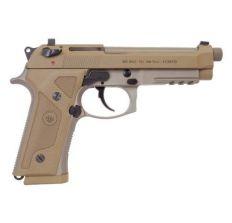 """Beretta USA M9A3 G Pistol 9mm 5.2"""" Threaded (3) 10rd - FDE"""