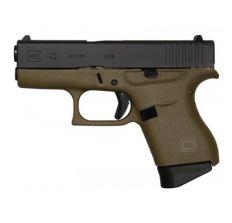 Glock 43 Battlefield Green 9mm Pistol 3.39'' barrel (2) 6rd mags UI4350201BFG MADE IN USA