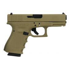 Glock 19 Gen 3 9mm Luger 15rd FDE