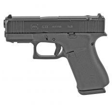 """Glock 43X MOS 9mm 3.4"""" Barrel (2) 10rds W/ Accessory Rail - Black"""
