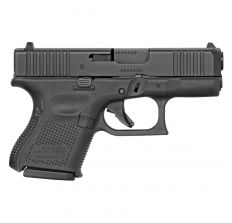 "Glock G26 Gen 5 9mm 3.4"" 10rd Interchangeable Backstrap Front Serrations - Black"