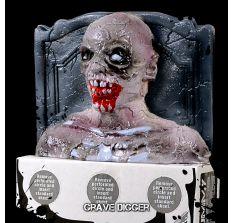 Grave Digger BLEEDING ZOMBIE TARGET!  Bleeds & oozes pink zombie blood (paintballs) when shot!