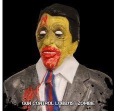 Zombie Target Full Size Torso - Gun Control Lobbyist Zombie (Lawyer)