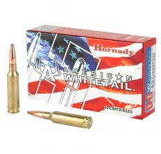 Hornady American Whitetail 6.5 Creedmoor, 129 Grain, Interlock 20rd Box