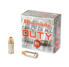 Hornady Critical Duty Ammo 9mm +P 124gr FlexLock - 25rd Box