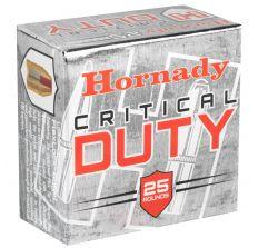 Hornady 9MM+P 135gr Critical Duty 25rd Box