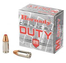 Hornady 9MM 135GR CRITICAL DUTY 25rd Box